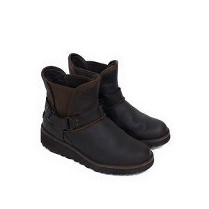 UGG Dark Brown Glen Chelsea Style Boots Size 5